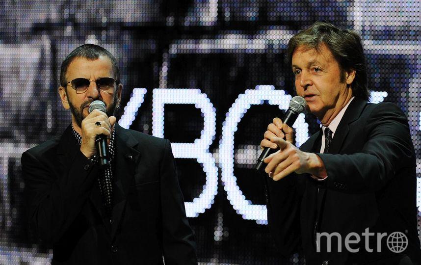 Пол Маккартни и Ринго Старр запишут совместный альбом. Фото Getty