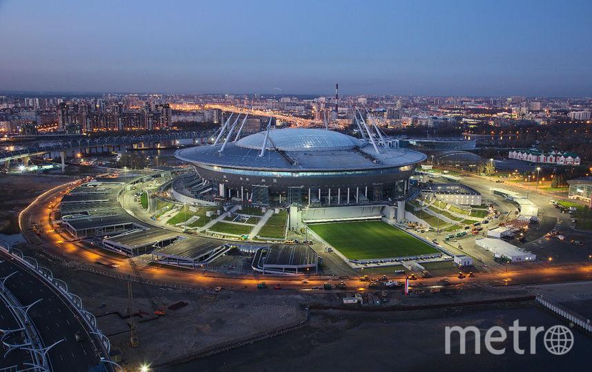 Фото стадиона.