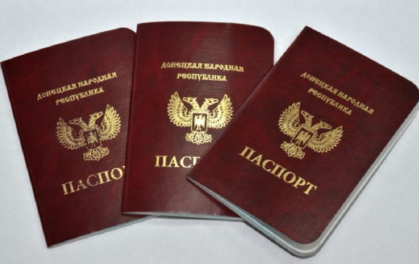 Паспорта ЛНР. Фото РИА Новости