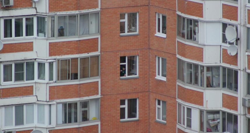 Дом, где происходят события. Фото предоставила очевидец