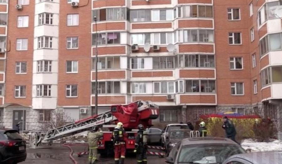 Дом в Ново-Переделкино, где разворачиваются события. Фото скриншот YouTube