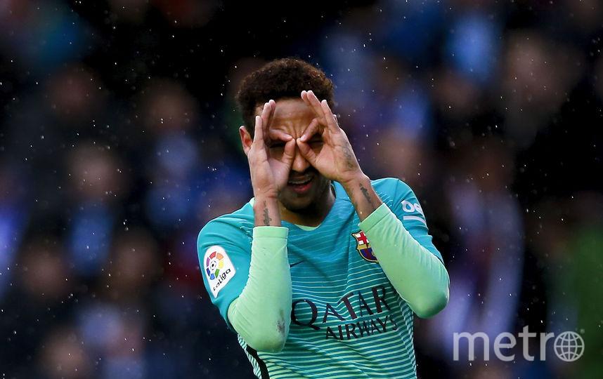 "Футболист ""Барселоны"" Неймар. Фото Getty"