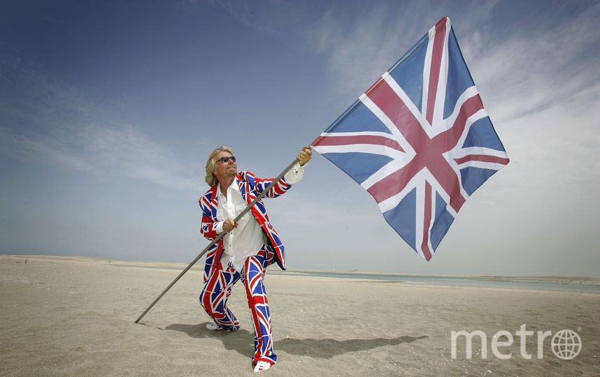 Ричард Бренсон. Фото Getty
