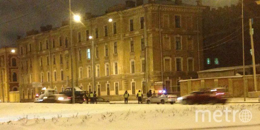 ВПетербурге наСадовой таксист пытался исчезнуть от милиции