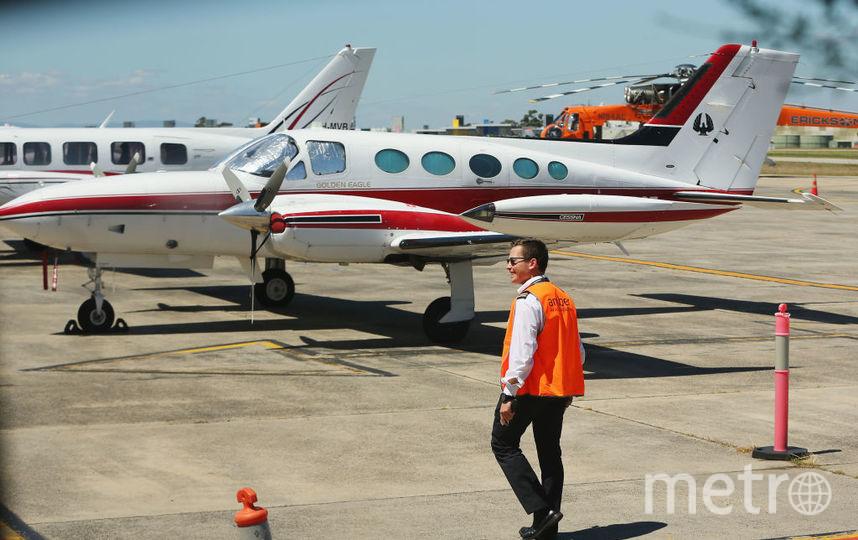 Самолет Beechcraft King Air взлетел из аэропорта  Эссендон. Фото Getty