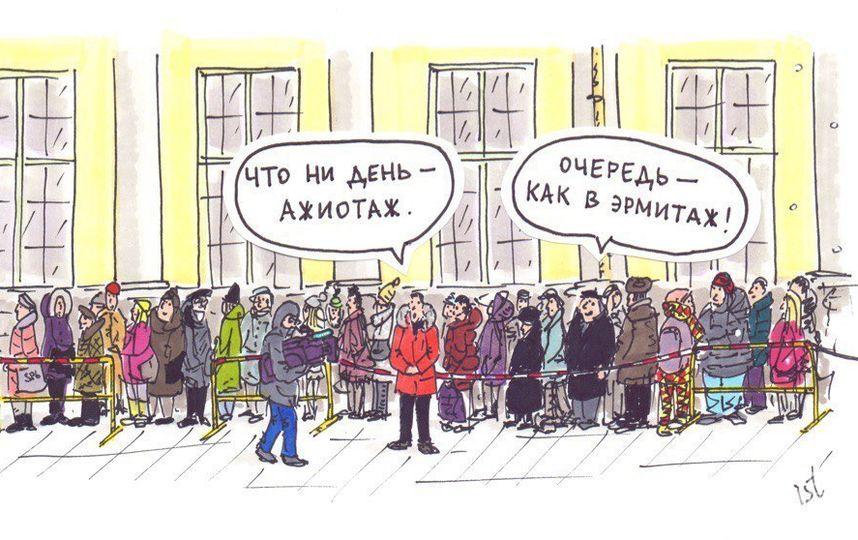 """Художник в картинках запечатлел, сколь сильна тяга петербуржцев к прекрасному. Фото предоставлены Ильёй Тихомировым, """"Metro"""""""