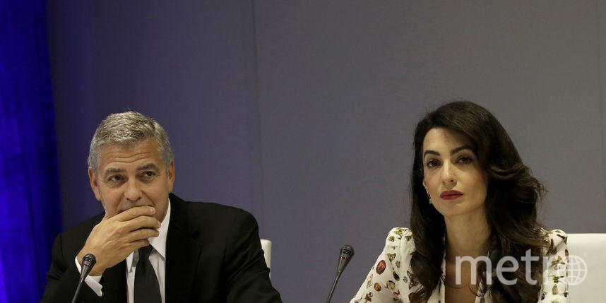 Джордж иАмаль Клуни раскрыли пол собственных будущих детей