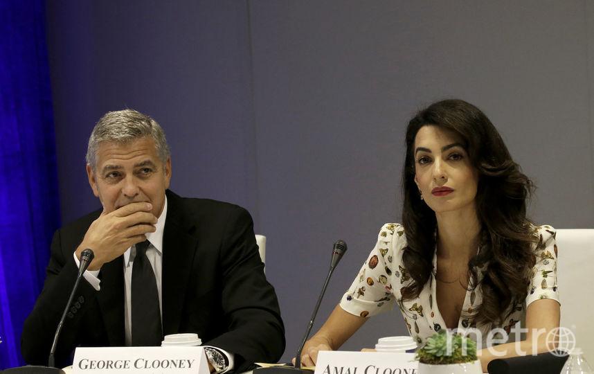 Джорж и Амаль Клуни. Фото Getty