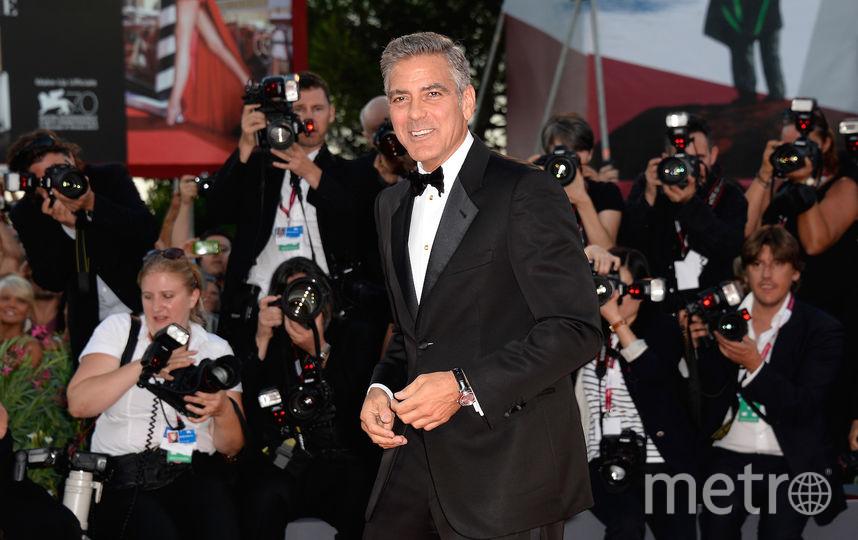 Актёр Джордж Клуни. Фото Getty