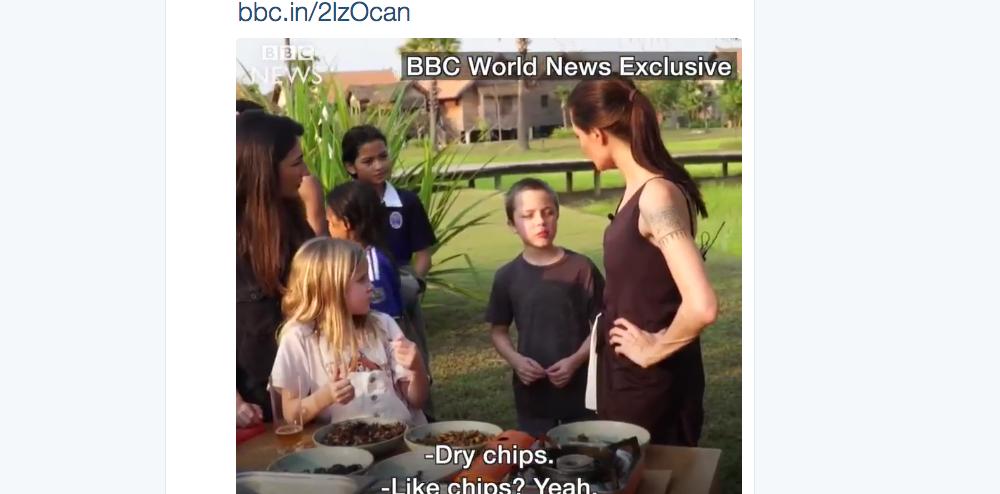Скриншот twitter.com/BBCWorld.
