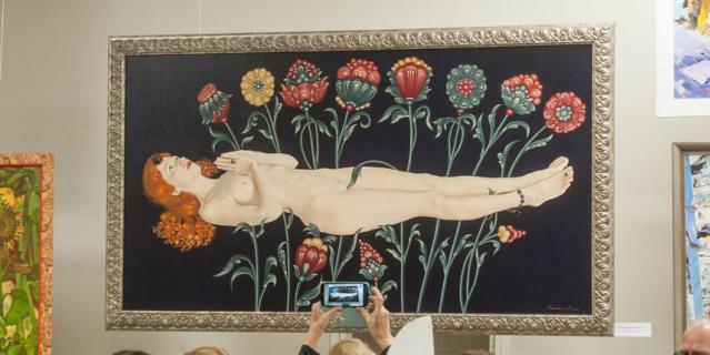 Юбилейная выставка Петербургского Союза художников вызвала ажиотаж