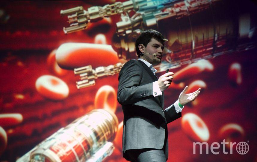 Петербургский ученый одержал победу в Science Slam. Фото Александр Палаев