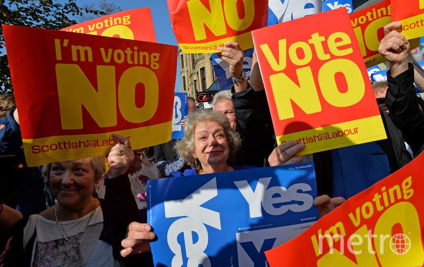 Референдум в Шотландии. Фото Getty