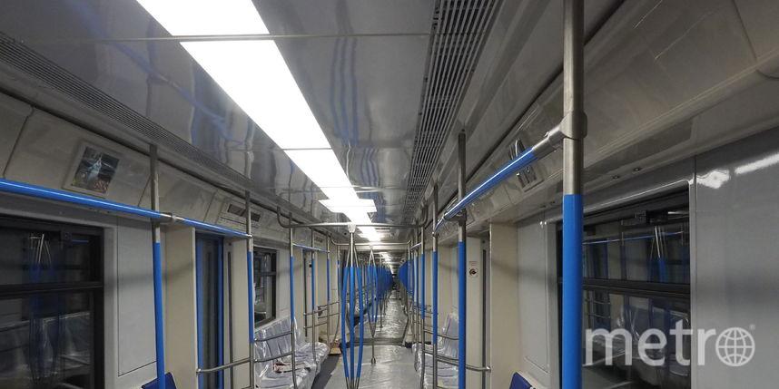 Новый поезд «Москва» пройдет тестирования наТагнаско-Краснопресненской линии