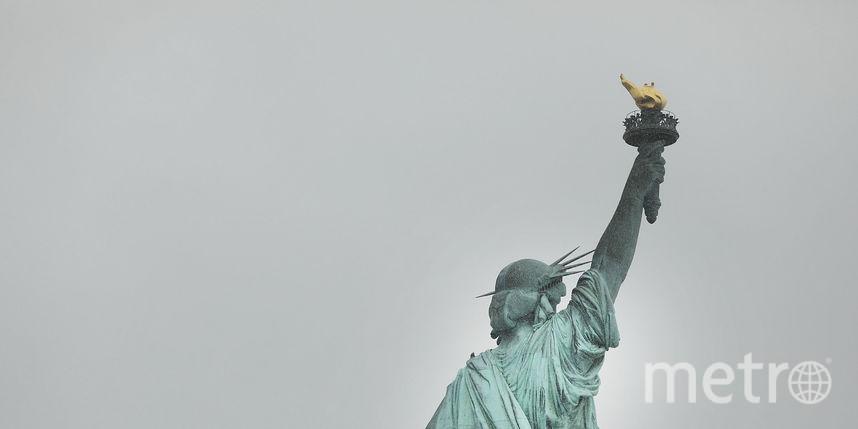 «Беженцы, добро пожаловать»— скульптура Свободы