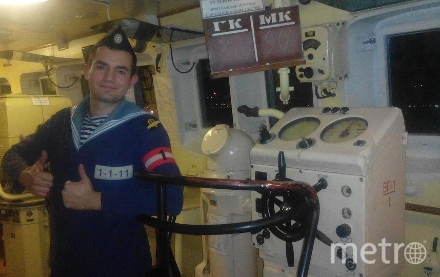 Старший рулевой Черноморского флота Сергей Трафимов.
