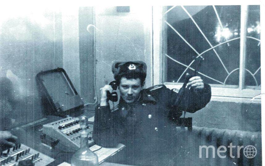 В карауле г.Горький (Нижний Новгород) 1979 год. Фото  Ланцов Олег Витальевич