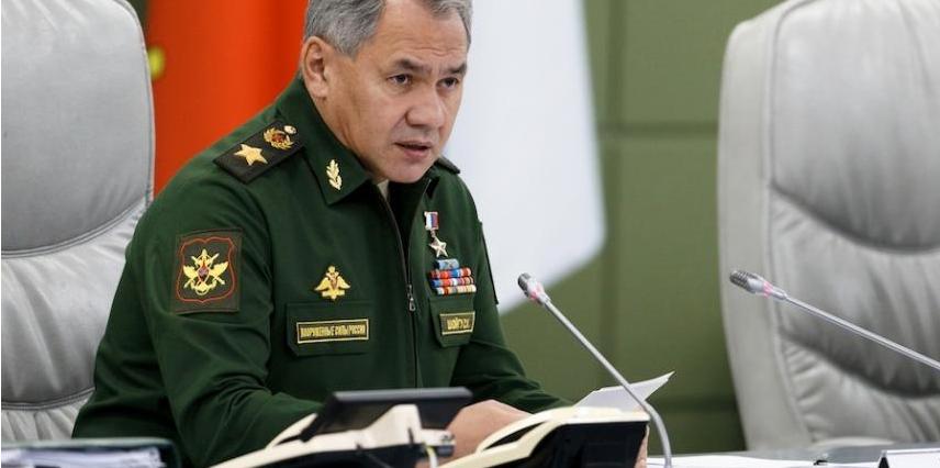 Министр обороны Серегй Шойгу. Фото Миноборны РФ.