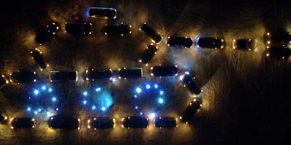 Житель Подмосковья создал ко Дню защитника отечества танк из 26 автомобилей