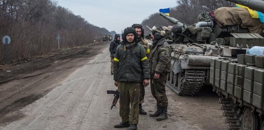 Украинские войска. Фото Getty