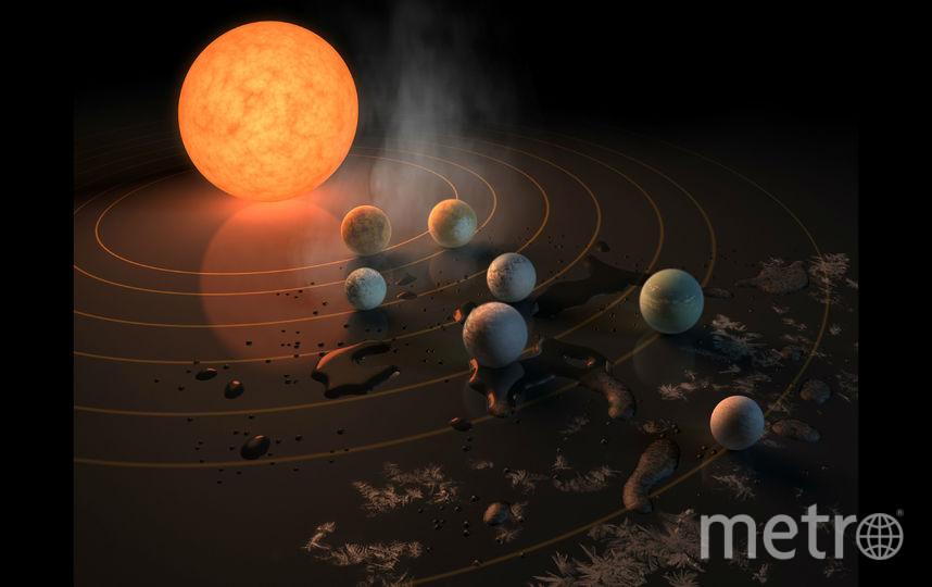 Фото с пресс-конференции NASA. Фото Getty