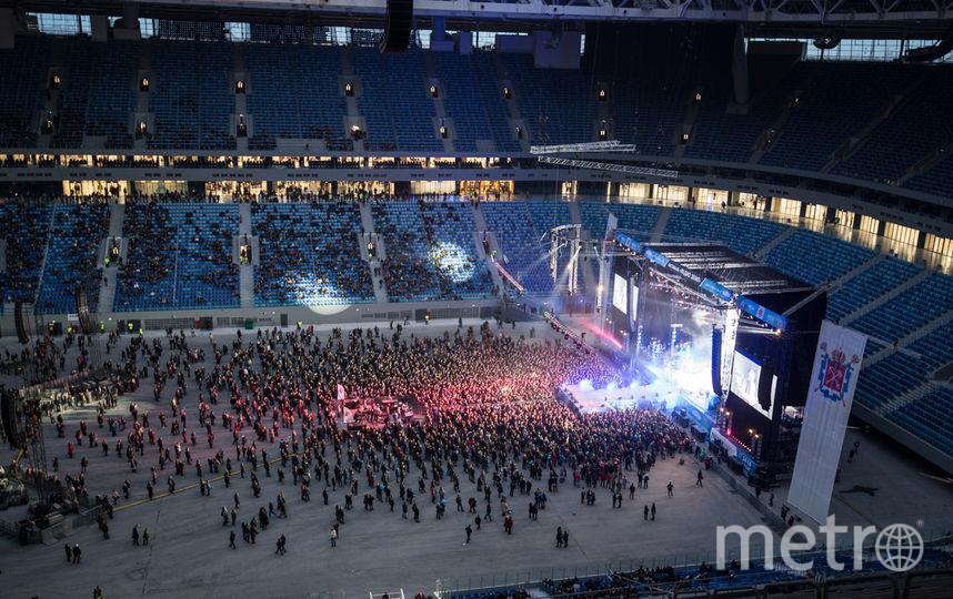 "Фестиваль ""Радио Зенит"" на ""Санкт-Петербург Арене"". Фото Святослав Акимов, ""Metro"""