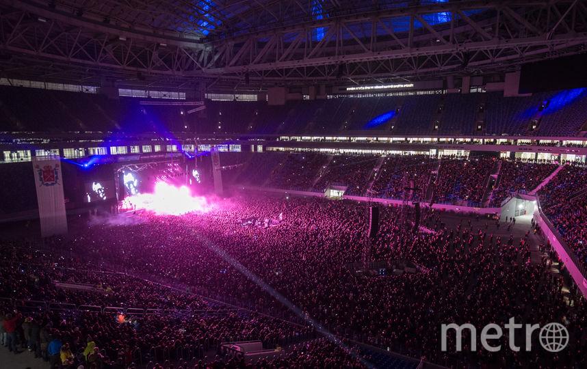 """Фестиваль """"Радио Зенит"""" на """"Санкт-Петербург Арене"""". Фото """"Metro"""""""