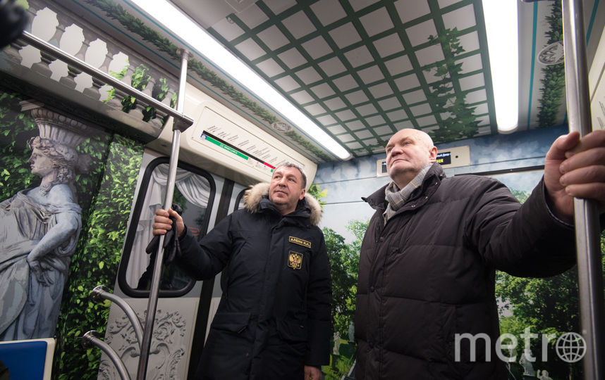 """В вагоне метро. Фото Святослав Акимов, """"Metro"""""""