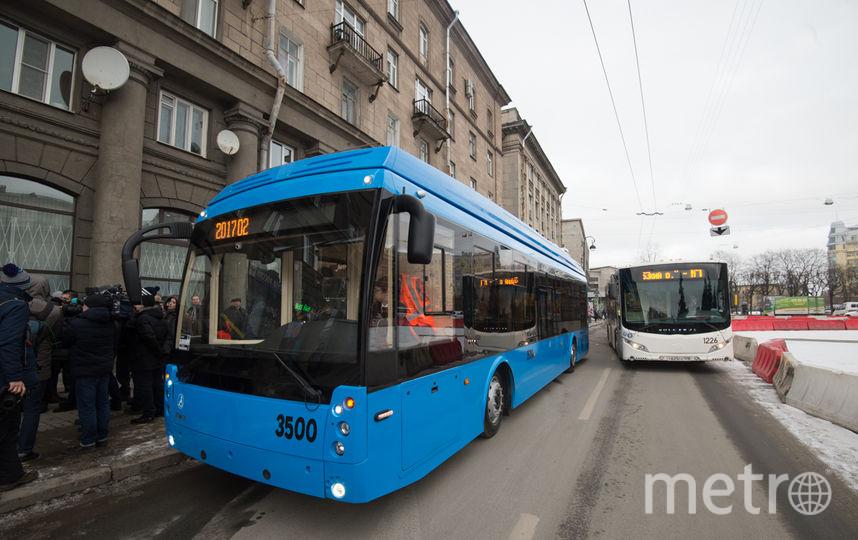"""Троллейбусы с автономным ходом. Фото Святослав Акимов, """"Metro"""""""