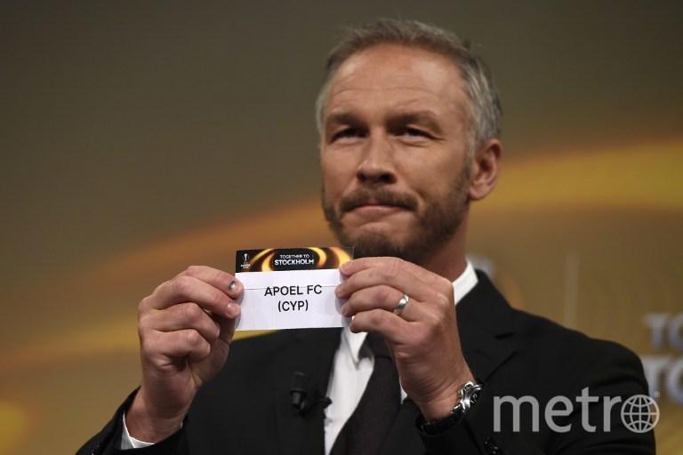 Жеребьёвка 1/8 финала Лиги Европы. Фото AFP