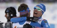 Падение соперников помогло лыжникам Устюгову и Крюкову выиграть командный спринт на чемпионате мира