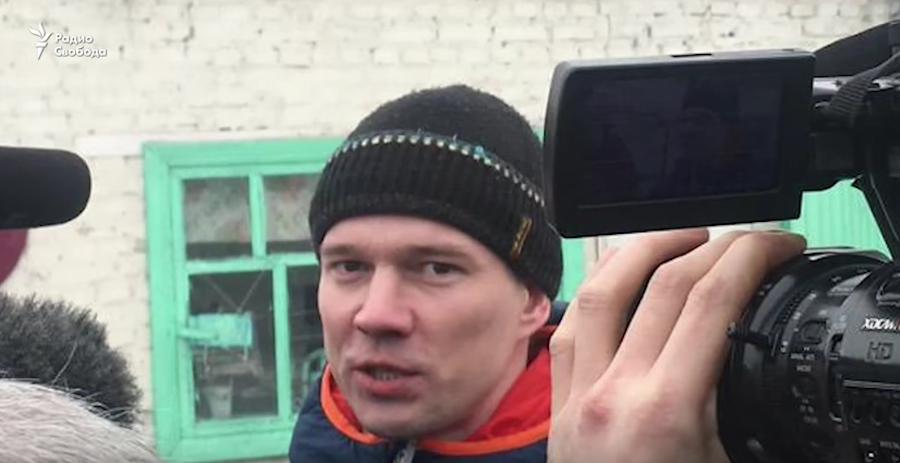 """Ильдар Дадин. Фото скриншот с канала """"Радио Свобода"""" на YouTube"""