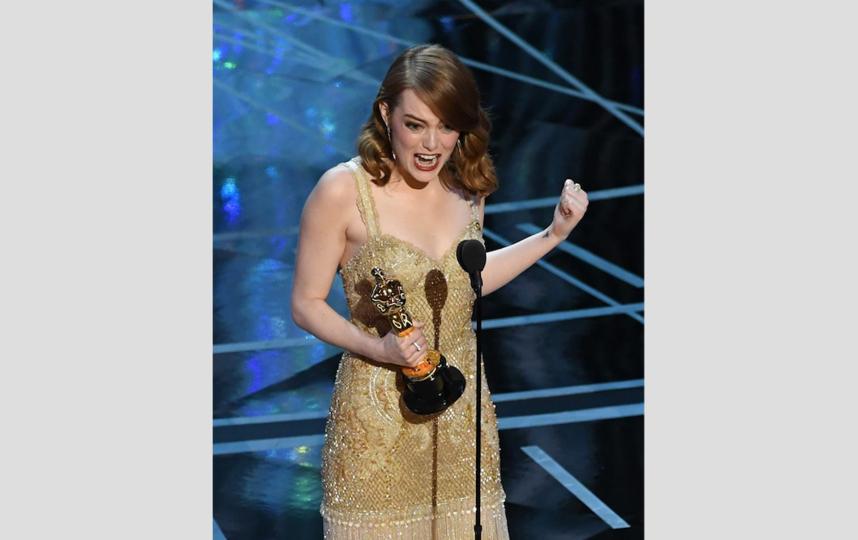 "Эмма Стоун выиграла ""Оскар"". Фото Getty"
