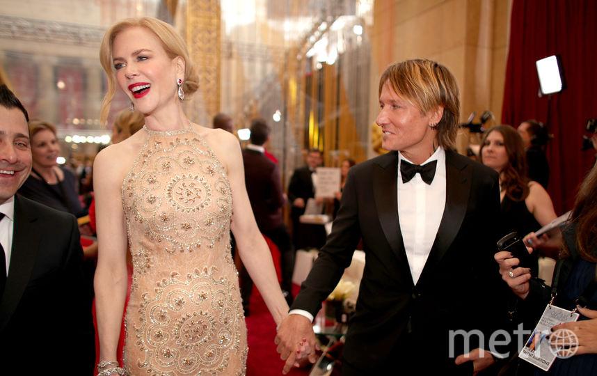 Николь Кидман с супругом Китом Урбаном. Фото Getty