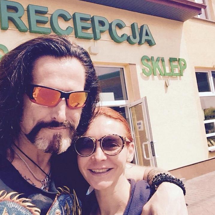 Никита Джигурда и Марина Анисина отпраздновали годовщину свадьбы.