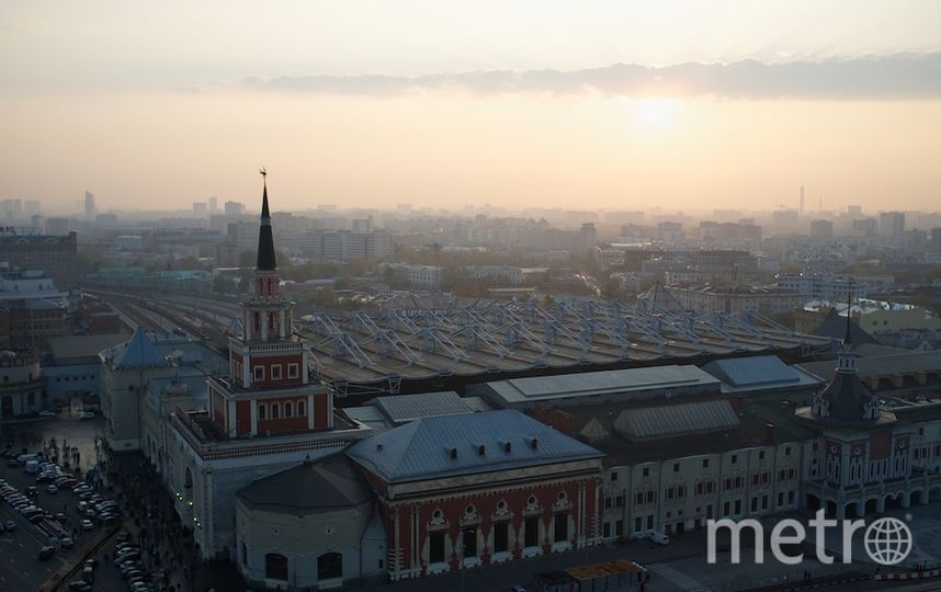 Погода Москвы. Фото Getty