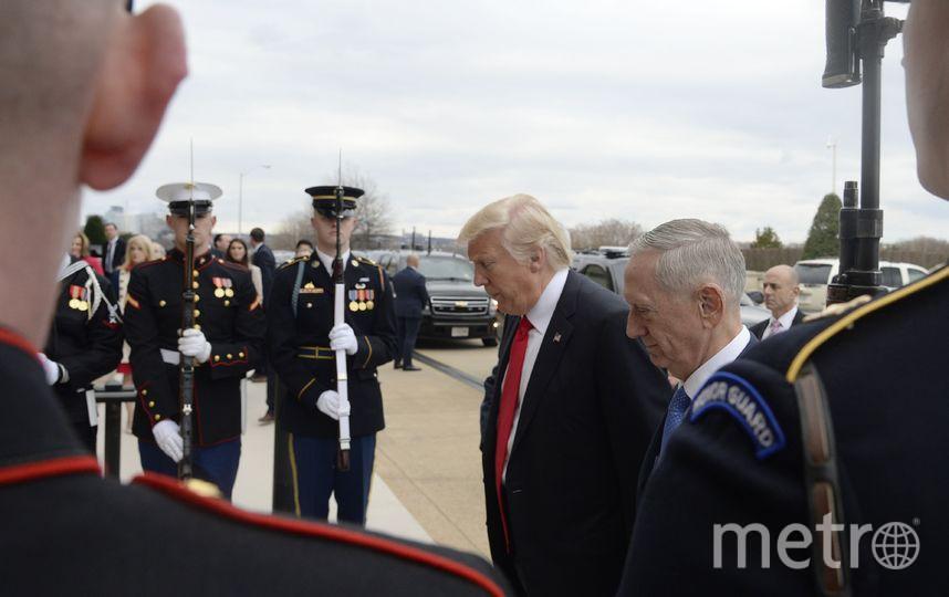 Президент и министр обороны США. Фото Getty