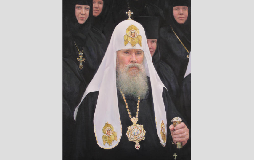 Патриарх Алексий II. Фото Скриншот из Wikipedia.