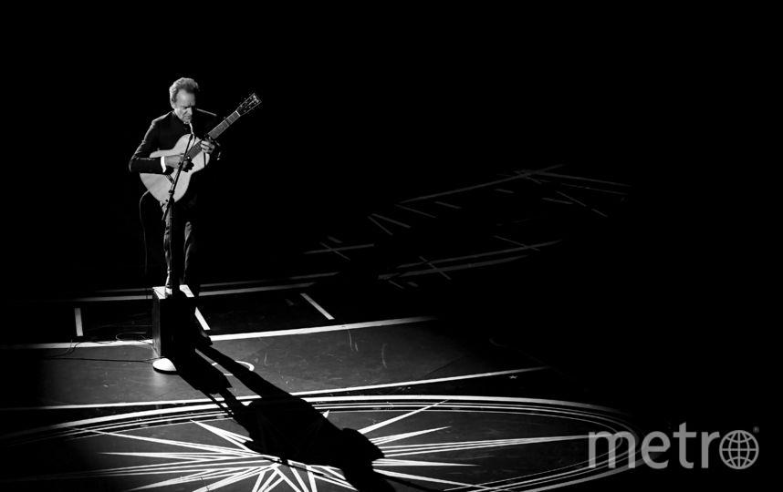 Певец и музыкант Стинг во время выступления. Фото Getty