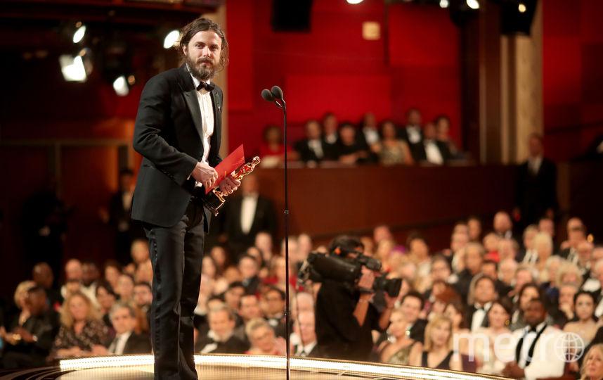 Актер Кейси Аффлек на сцене. Фото Getty
