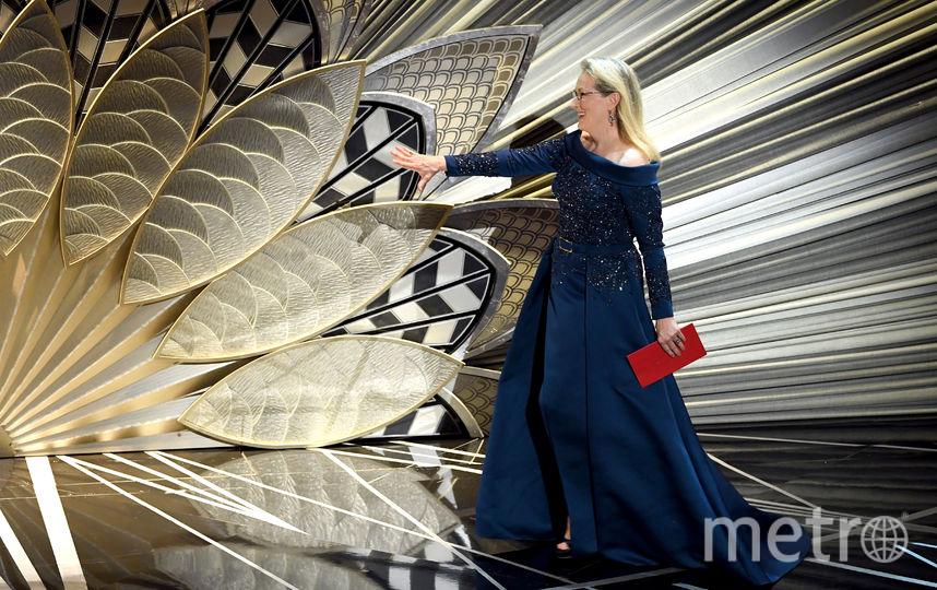 Актриса Мерил Стрип на сцене. Фото Getty