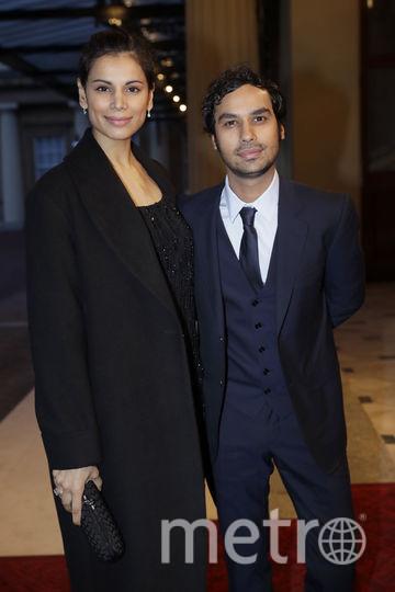 Кунал Найяр с супругой. Фото Getty
