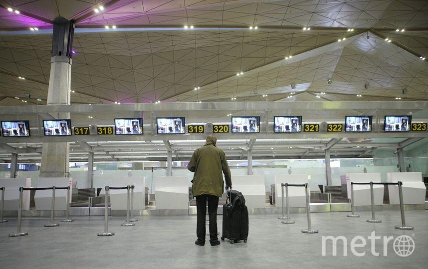 Милиция проверяла бесхозный пакет ваэропорту Пулково