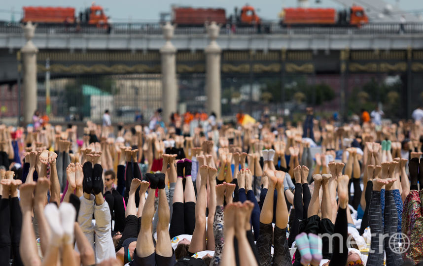 День йоги. Фото Кирилл Зыков.