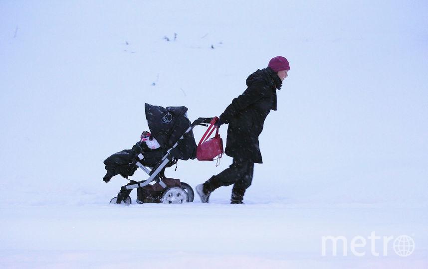 В Петербурге могут ввести поощрение за рождение первенца. Фото Getty