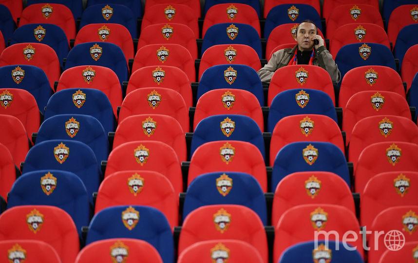 Стадион футбольного ЦСКА. Фото Getty