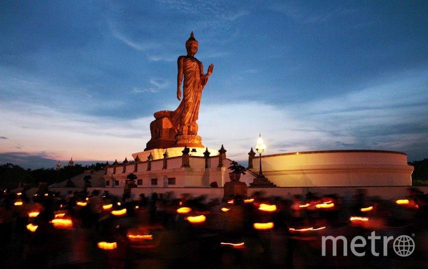 Специалисты СПбГУ не нашли пропаганды нацизма в обозначении буддийских храмов. Фото Getty