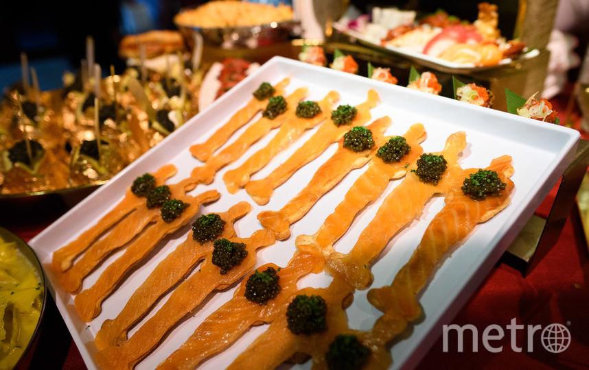 Еда на вечеринке. Фото AMPAS & Megan Waintal