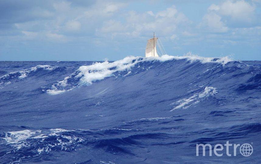 Не раз экспедиция попадала в шторм. Фото предоставлено организаторами экспедиции