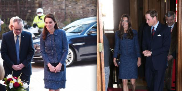Кейт Миддлтон повторила свой модный образ пятилетней давности